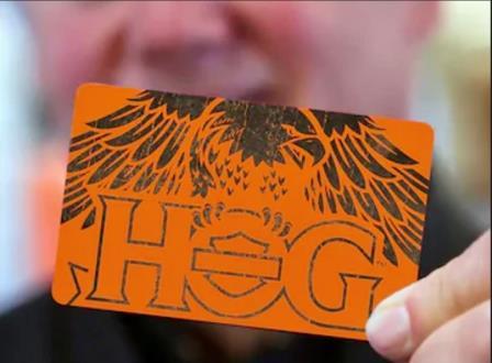 H.O.G.® MEMBERSHIP CARD